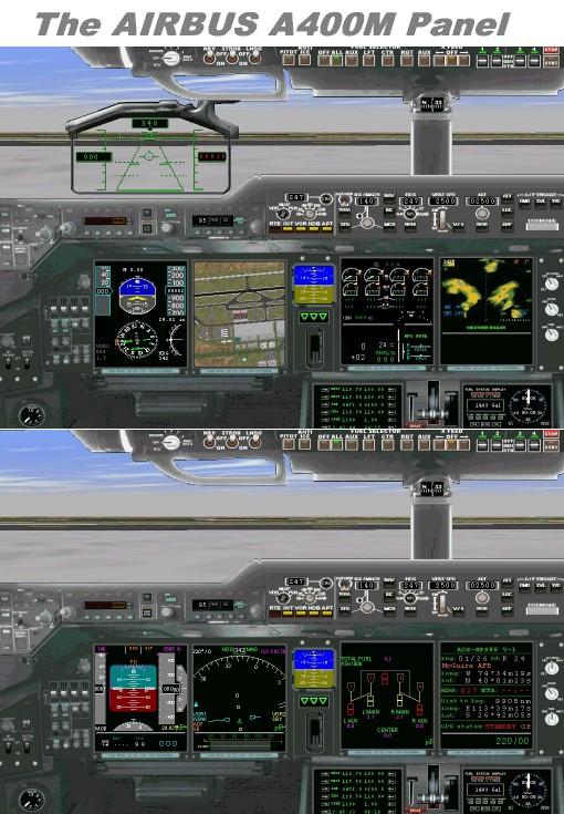 A400Mpanel